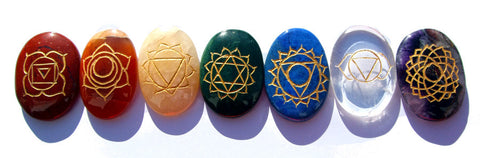Single Chakra Balancing Stones - Cast a Stone