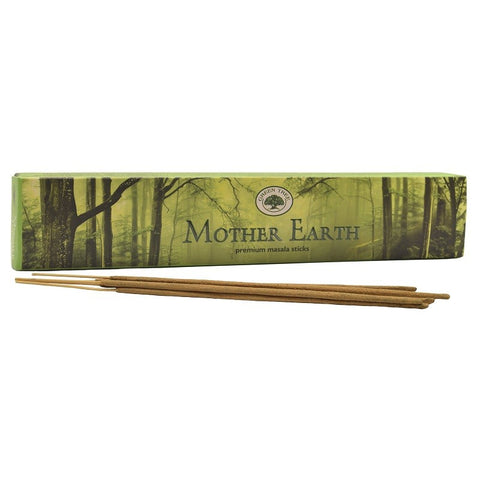 Green Tree Mother Earth Incense Sticks 15gm