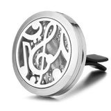 Music Note Car Diffuser Aromatherapy Locket