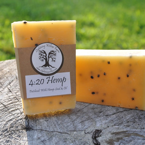 Lightning Willow 4:20 Hemp Everyday Soap