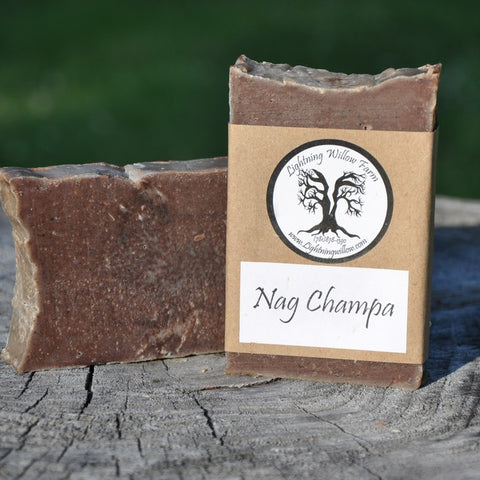 Lightning Willow Nag Champa Everyday Soap