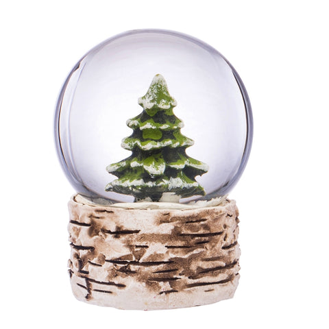 Pine Tree Water Snow Globe