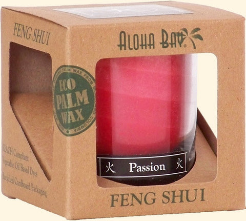 Fire - Passion Feng Shui Jar Candle - Cast a Stone