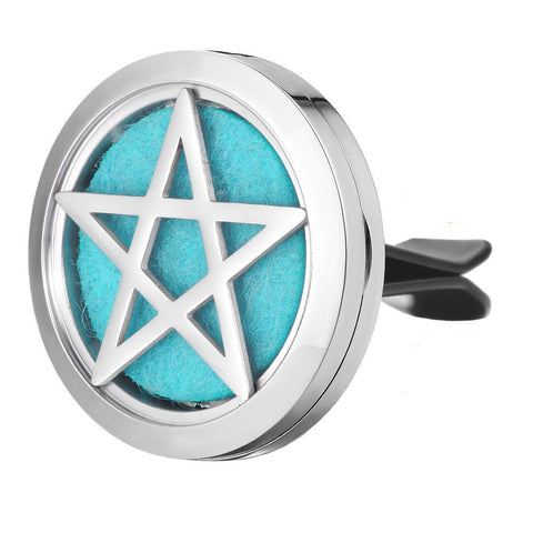 Pentacle Car Diffuser Aromatherapy Locket