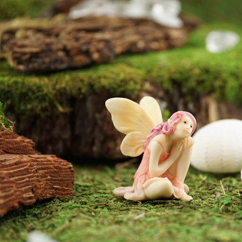 Mini Flower Fairy: Pastel Fairy Garden Miniature