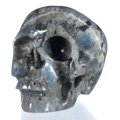 Labradorite Natural Crystal Skull 5""