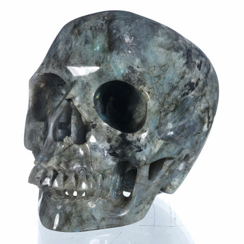 Labradorite Natural Crystal Skull