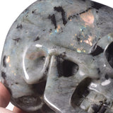 Large Labradorite Natural Crystal Skull