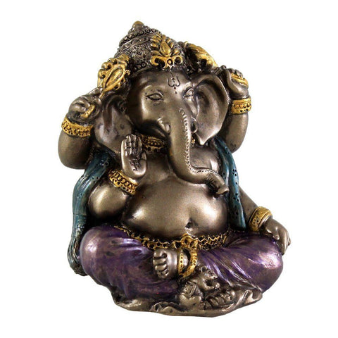 Mini Ganesh Hindu God Remover of Obstacles 2""