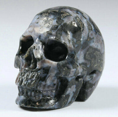 Merlinite Natural Crystal Skull