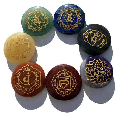 Back in Stock! Chakra Sanskrit Balancing set of 7
