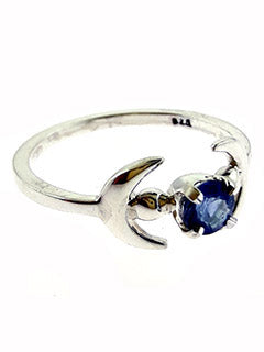 Luna Sterling Silver Kyanite Ring