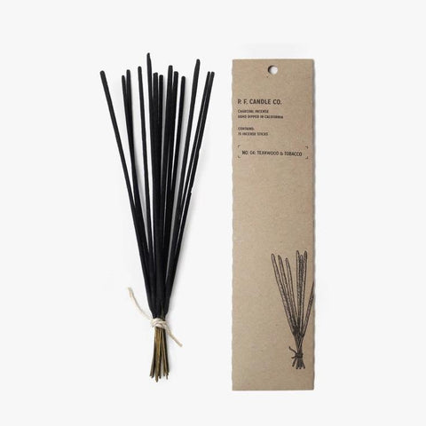 No. 04 Teakwood & Tobacco Charcoal Incense sticks