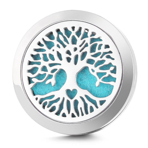 Tree of Life Car Diffuser Aromatherapy Locket - Cast a Stone