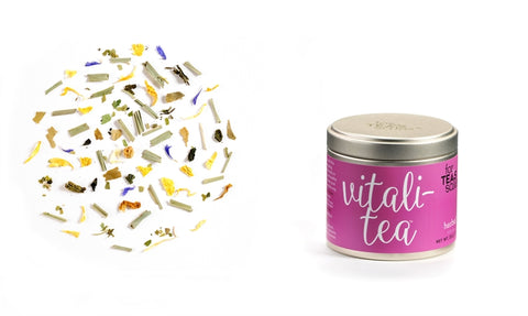 For Tea's Sake Vitali-Tea Wellness Tea Blend
