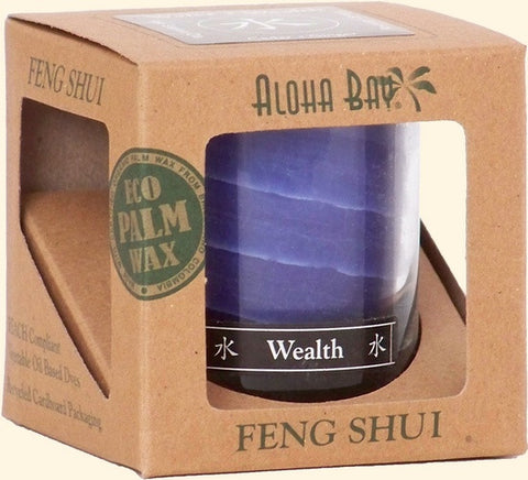 Water - Wealth Feng Shui Jar Candle