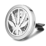 Herb Pot Leaf Car Diffuser Aromatherapy Locket - Cast a Stone