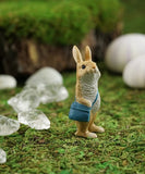 Little Messenger Rabbit Fairy Garden Figurine