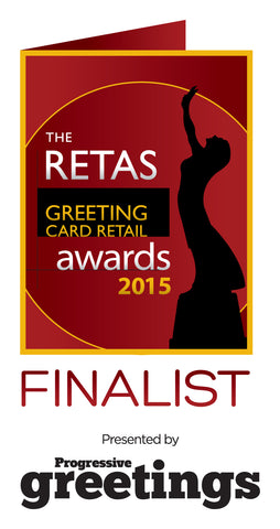 Hallmark Celebrate Finalist: The Retas 2015: Best Greeting Card Retailer Newcomer South