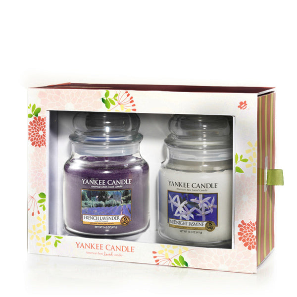 Fragrance Club - Fragrance of the Month 2 Medium Jar Gift Pack