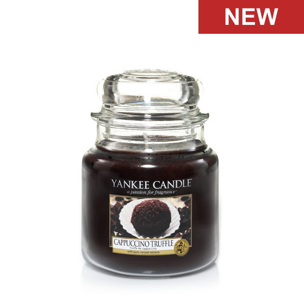 Cappuccino Truffle Medium Jar Yankee Candle