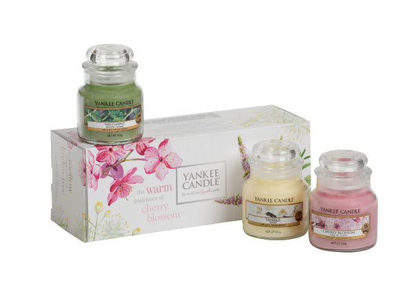 Fragrance Club - 3 Small Jar Gift Pack