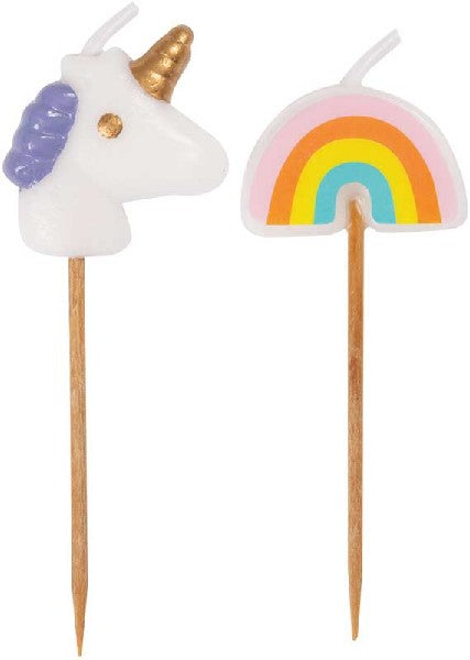UNICORN & RAINBOW PICK CANDLES