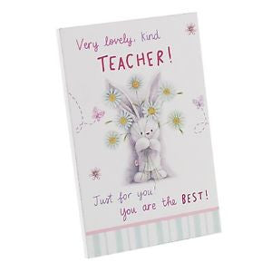 Bebunni Teacher Plaque