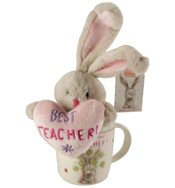 Bebunni Rabbit Small Standing Gift Set - Teacher