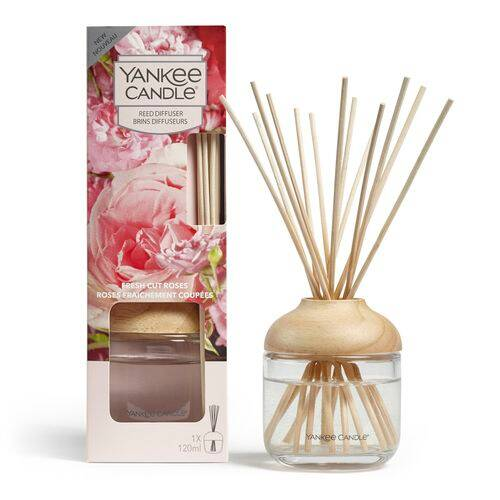 REED DIFFUSER FRESH CUT ROSES