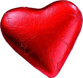 Red Foiled Heart (Milk Chocolate) 20g