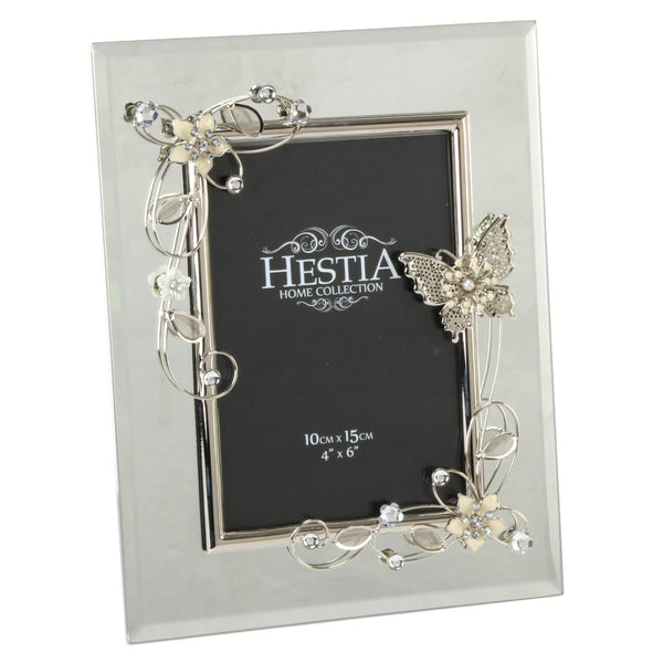 "Hestia Mirror Butterfly Series Photo Frame 4"" x 6"""