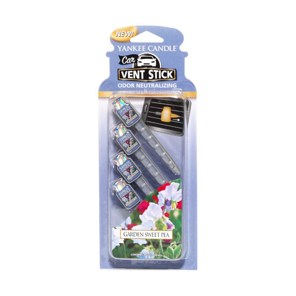 Garden Sweet Pea Car Vent Sticks