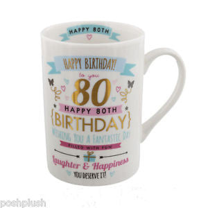 Signography Birthday Pink And Gold Design 80th