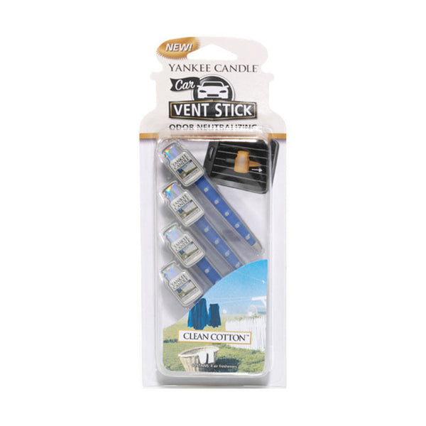 Clean Cotton Car Vent Sticks