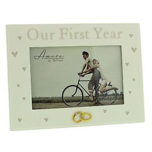 "Our First Year 6""x4"" Frame"