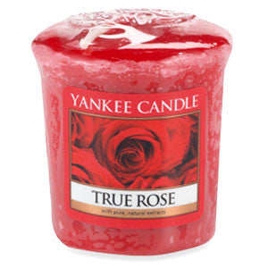 True Rose Votive Yankee Candle