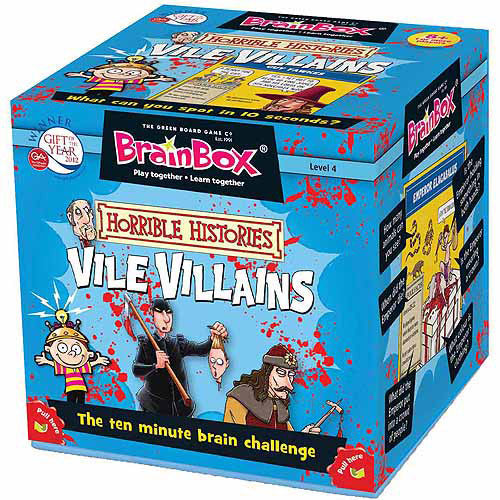 Brain Box Vile Villains