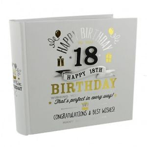 Signography Birthday Boy Photo Album 4x6 - 18th
