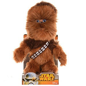 "10"" Star Wars Plush Cuddly Toy Chewbacca"