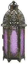 Grand Bazaar Lantern Purple Yankee Candle