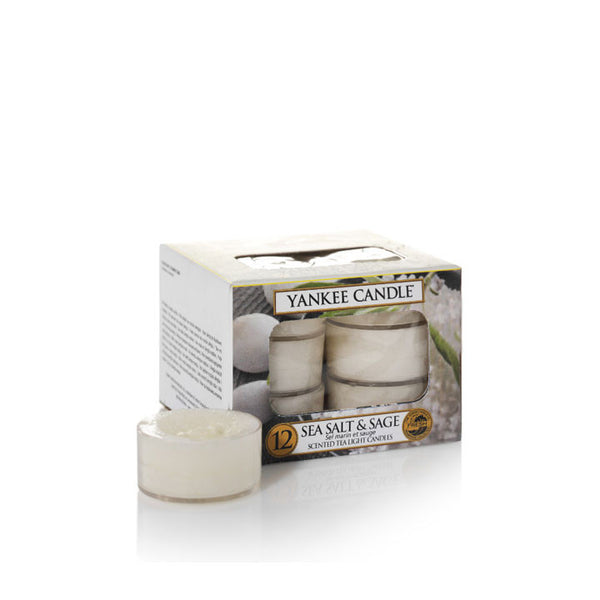 CLASSIC TEA LIGHTS SEA SALT & SAGE