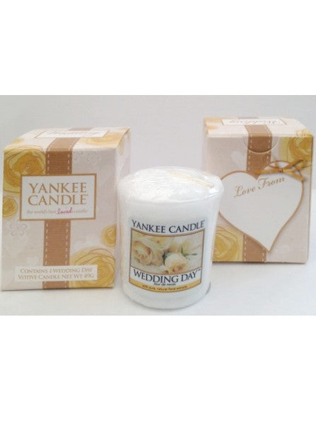 Boxed Votive Wedding Day Yankee Candle
