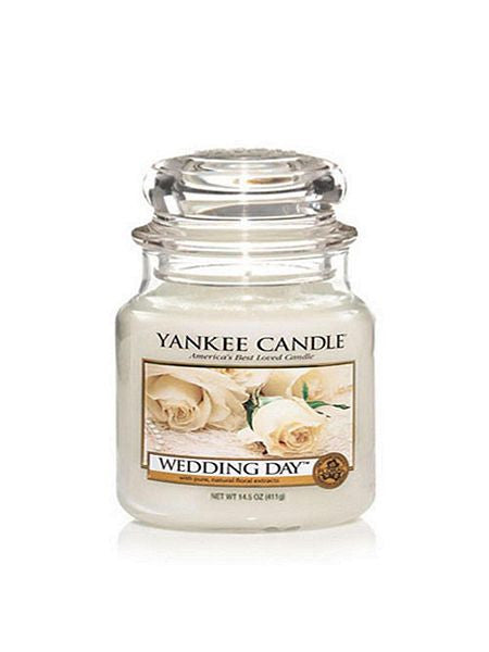 Wedding Day Medium Jar Yankee Candle
