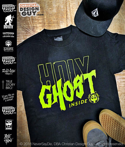 Holy Ghost (Spirit) Inside | Christian T-Shirt V1