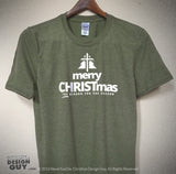 Merry CHRISTmas Christmas Holiday | Unisex Christian T-Shirt