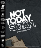Not Today satan - JESUS is Greater in me™ |  Funny Christian T-Shirt