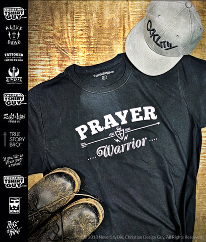PRAYER WARRIOR V2 | Men's Christian T-Shirt