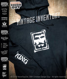 Rise with the King™ - King Issue Hoodie | Christian Hooded Sweatshirt