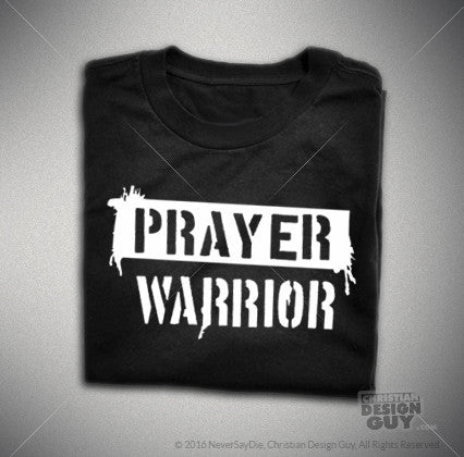 PRAYER WARRIOR | Men's Christian T-Shirt